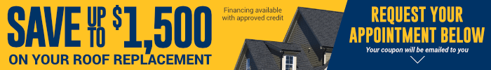Save Up To $1,500 On Your Roof Replacement